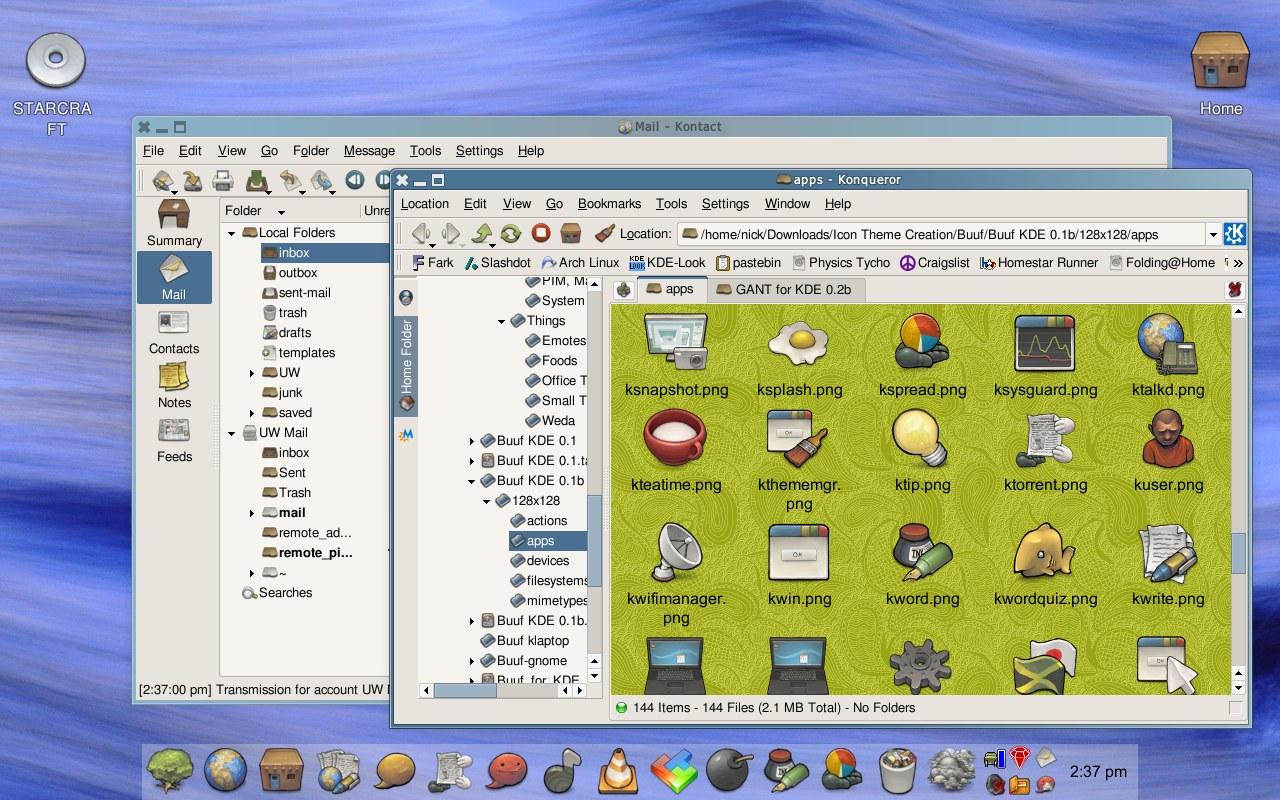 Buuf for KDE 0.1b by Shirakawasuna