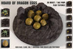 FREE Objects / DAZ Prop - Hoard of Dragon Eggs