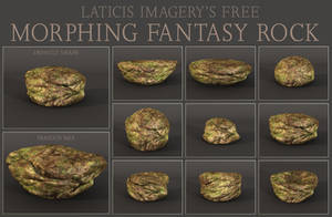 FREE DAZ Prop - Morphing Fantasy Rock by Laticis