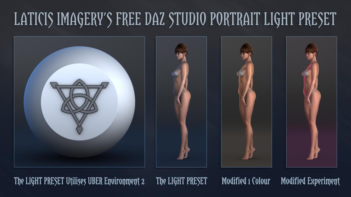 LI FREE - DAZ Studio Light Preset by Laticis