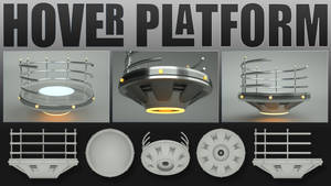 Laticis Imagery FREE Object - Hover Platform by Laticis