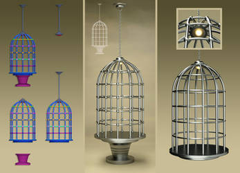 Laticis Imagery FREE Object - Bird Cage by Laticis