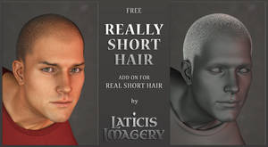 Laticis Imagery FREE Addon - Really Short Hair by Laticis
