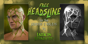 Laticis Imagery FREE - Genesis 2 Male - HeadSlime by Laticis