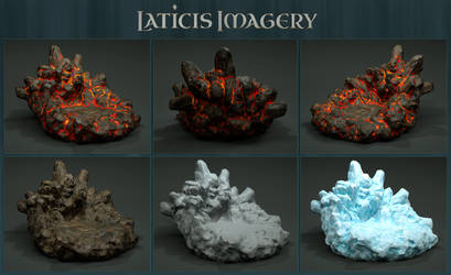 Laticis Imagery FREE Object - Rock Stand