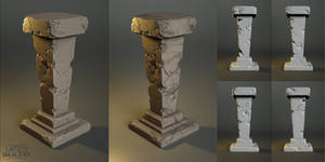 Laticis FREE Object -  Cracked Column by Laticis