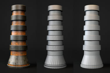 Laticis FREE Object - SciFi Pillar by Laticis
