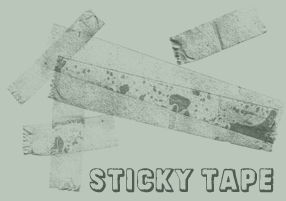 Brushes - Sticky Tape by MauserGirl