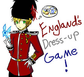 England's dress up game by Royal-Guard-Lover