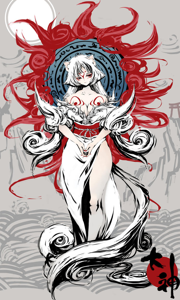 Half-Human!Okami Shiranui X Reader **requested** by ...