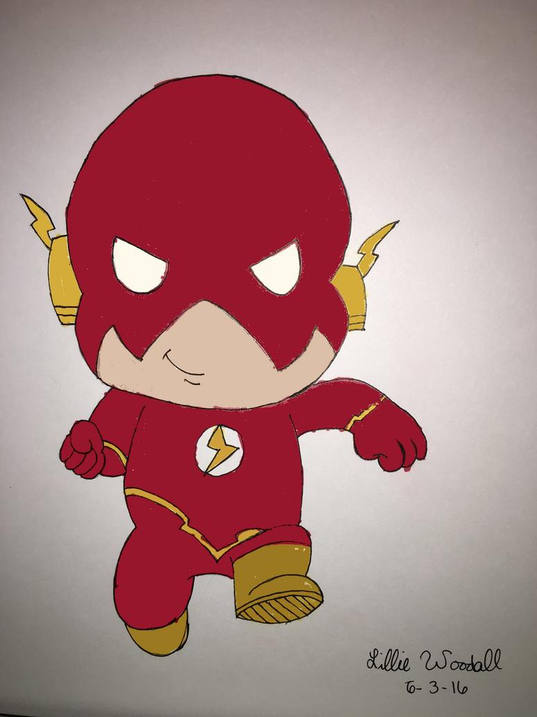 Chibi Flash by blueist47art