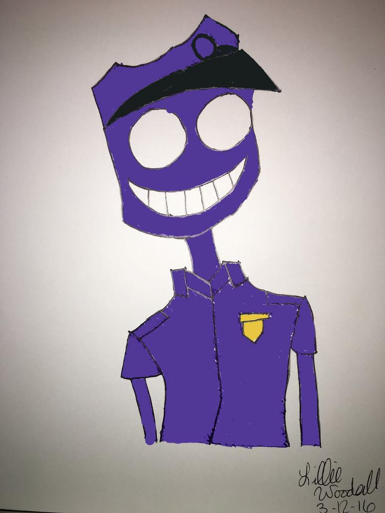 Purple Guy by blueist47art