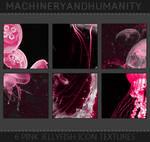 Pink Jellyfish Icon Texture Set