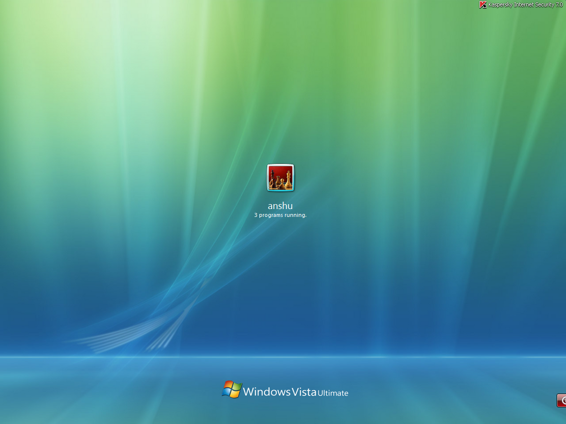 VISTA Logon SCREEN FOR TUNE UP By Sunnymahan007
