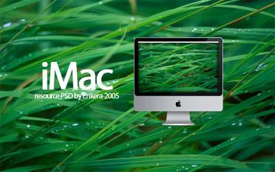 iMac Resource PSD 1.0.1
