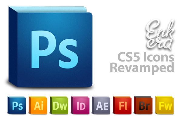 Adobe CS5 icons revamped by Enkera-2005