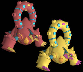 Volcanion Model Download by ChrisM199