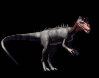 Cryolophosaurus DL by ChrisM199