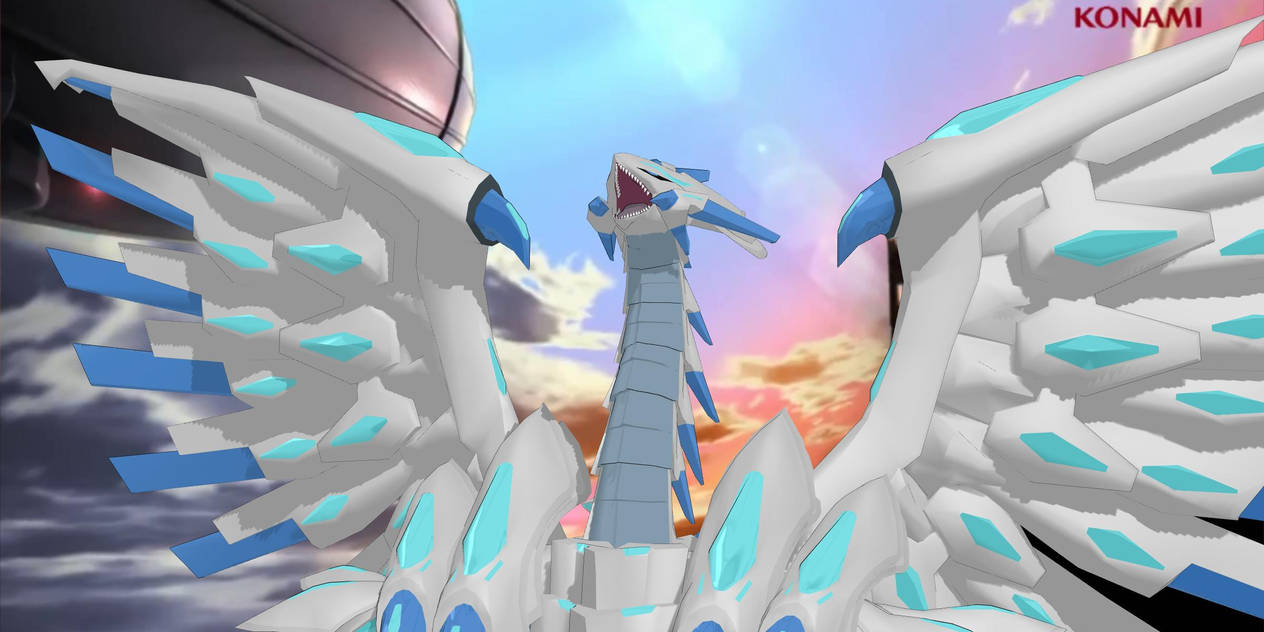 Blue Eyes Chaos MAX Dragon MMD Zip Download by ChrisM199