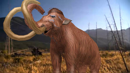 Woolly Mammoth MMD DL by ChrisM199