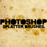 PS splatter brushes - 7.0 by JAMlE