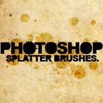 PS splatter brushes - 7.0