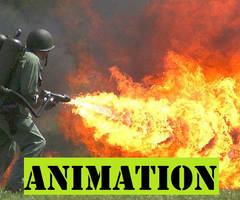 Flamethrower Animation