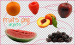 Fruits PNG Objects