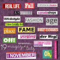 19 Magazine Cutz by camiluchiiz