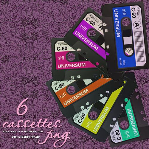 سكرابز كسيت , Cassettes