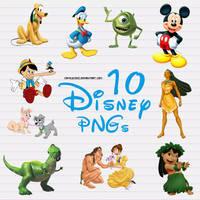 10 Disney PNG files
