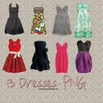 13 Dresses PNG