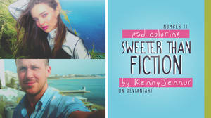 PSD 11 // Sweeter Than Fiction