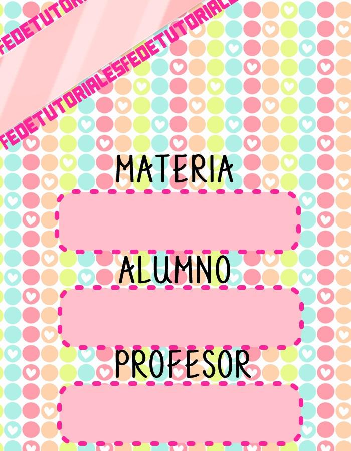 Caratulas Para Carpeta Escolar | apexwallpapers.com