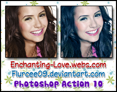 Photoshop Action 10 by flurcee09