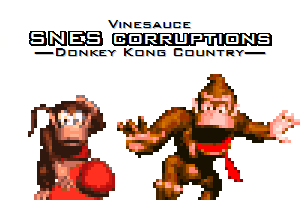 Donkey Kong Country SNES corruptions (video) by Kirby-Force