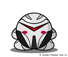 Kirby BSG: Cylon Centurion (TRS) Animated by Kirby-Force