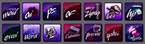 Custom Dock Icons by lynkx-ie