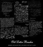 8 Handwritten letter Brushes