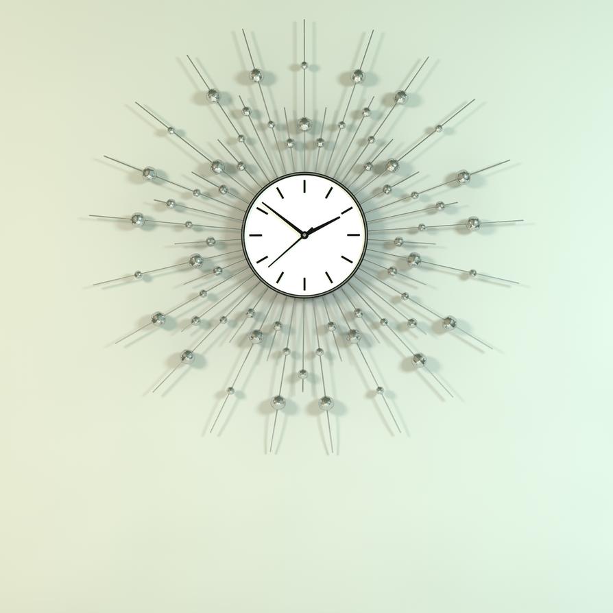 Decorative Wall Clock Model : Decorative wall clock model by taraleee on deviantart
