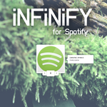 Infinify - a Spotify player