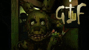 Five Nights @ Freddy's3 Jumpscare Edited Death GIF