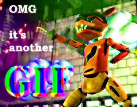 Foxy's MLG Victory Dance (Full-Size GIF)