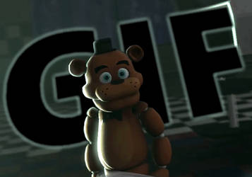 Scared Cute Mini Freddy GIF