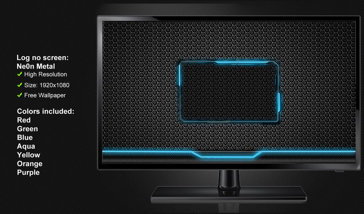 Log on screen NeOn Light by poweredbyostx