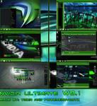 Nvidia Ultimate Windows 8.1 theme by poweredbyostx