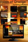 Spirit of Orange Windows 7 theme