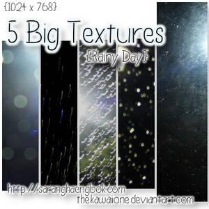 5 Big - Rainy Day Textures