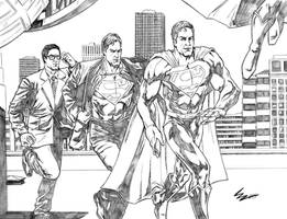 Clark Kent is Superman by Maximus