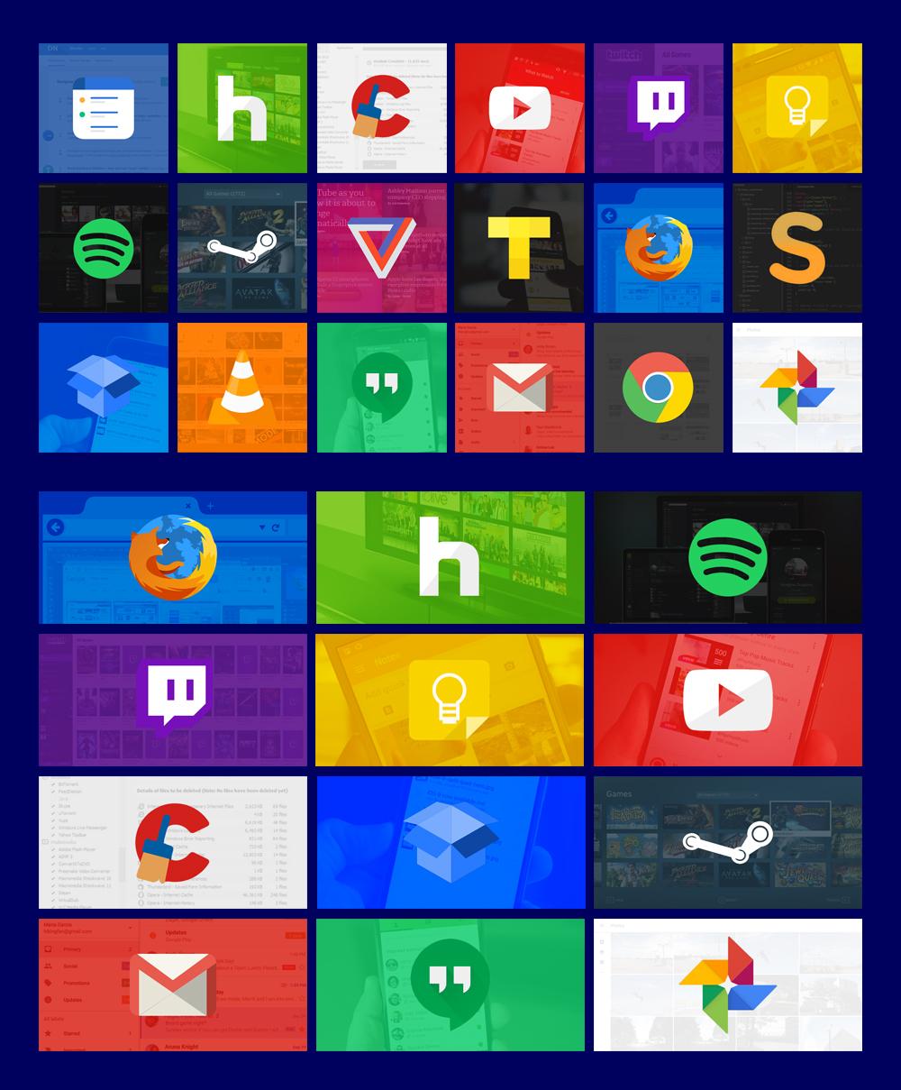 Modern Tiles Full Set 01 Windows 10 By Jsfeliciano On
